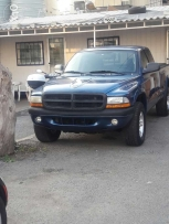 dodge dakota extracab 4x4 a/c fog lights full options ajnabeh