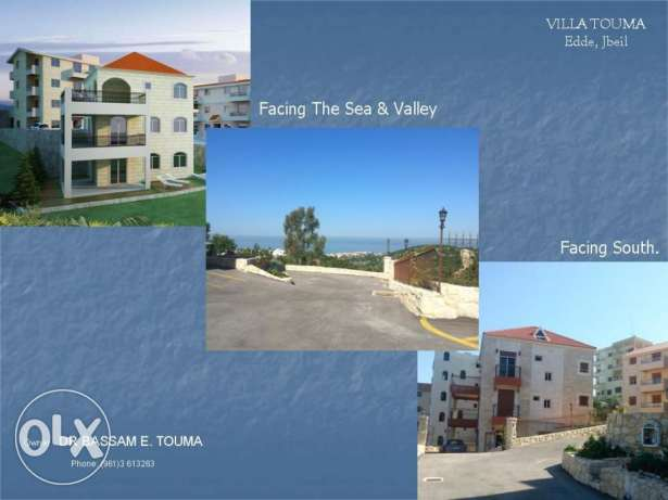 Brand New Villa Overlooking the Mediterranean Sea - Edde, Jbeil. جبيل -  1