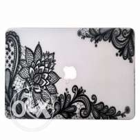 Black Lace Paisley Macbook Protective Case *Brand New*