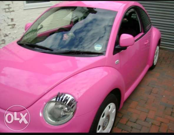 pink beetle for sale