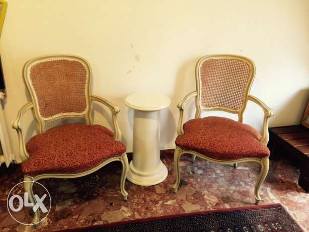 2 bergeres excellent condition wardeh textile