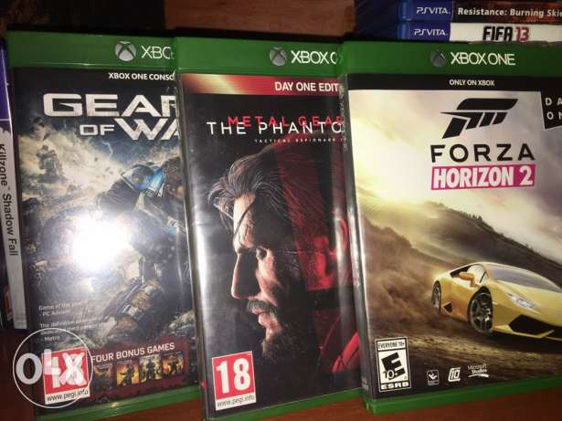 xbox one for sell+horazian 3 and ea access till july 2018