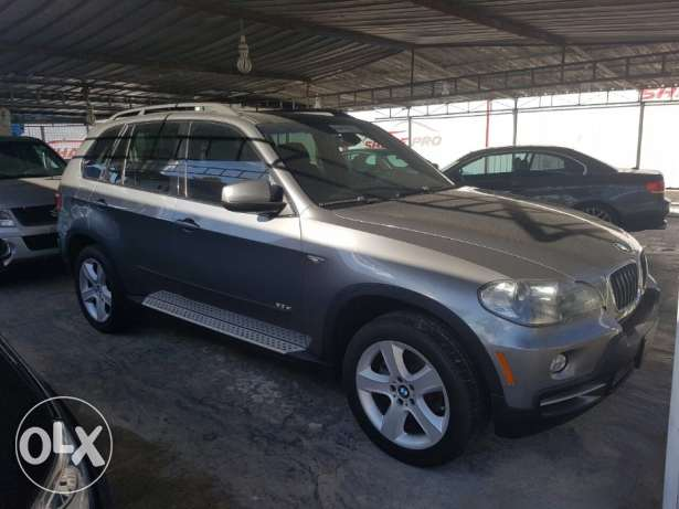 BMW X5 2008 ajnabeh full loaded sport package 7 seats rear cam sensors