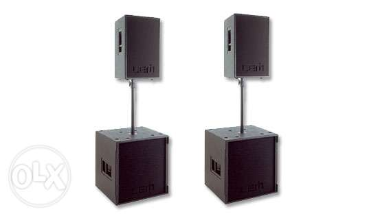 Active Speakers & subwoofers (lem pegasus)