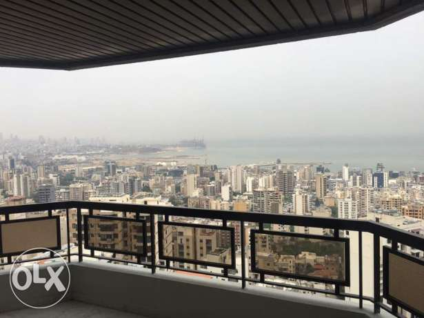 Furnished 200m² apartment with parking and beautiful view