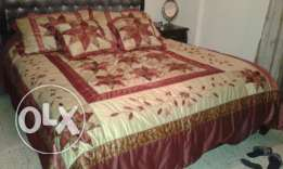 Bridal bed cover for sale