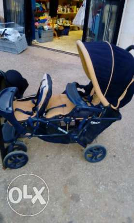 Twins baby carriages
