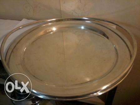 Silver Plate, 2 Kg, like new, 38cm, 2Kg, 50$