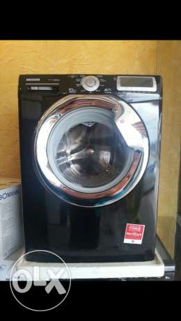 New BLACK Hoover 10kg Washing machine