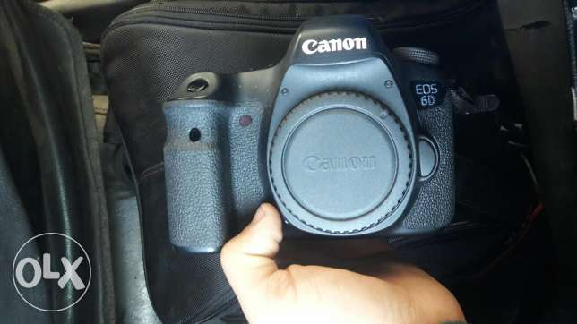 6d canon like new غبيري -  1
