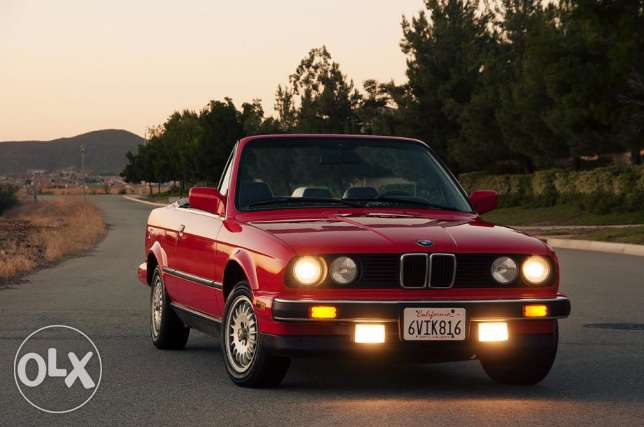 Wanted BMW e30 convertible - مطلوب BMW e30 كشف
