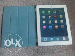 Ipad 4 with Sim like new + Magnetic original cover