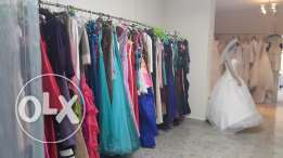 23 wedding and evening dresses for sale (liquidation)