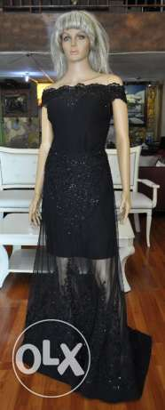 Black Evening Gown - Suitable for Maid of Honour - Sample Sale
