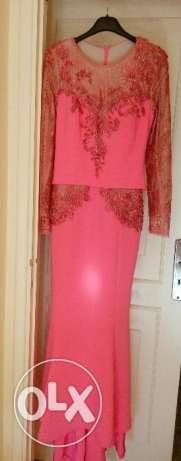 Pink Dress, For wedding or Dinner party بشامون -  1