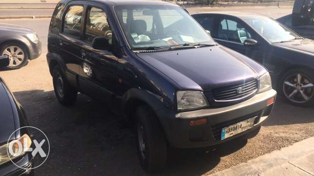 daihatsu terios mod 98 full option 4x4 شويفات -  1