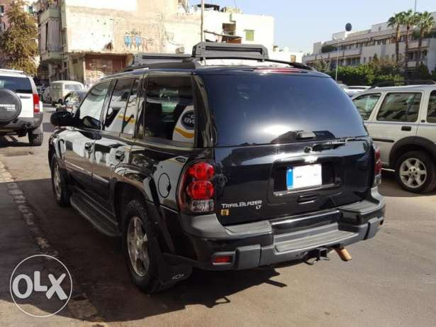 Trail Blazer LTZ-2005-Black-Beige Leather-Sunroof-0 Accidents-1 Owner أشرفية -  3