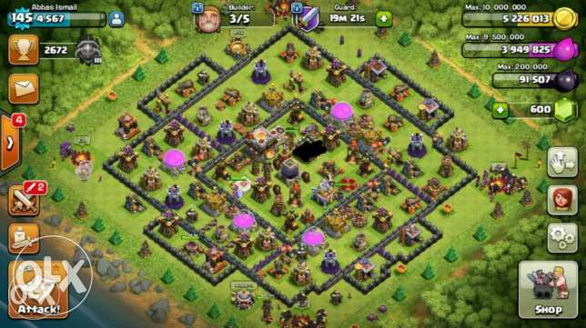 Clash of clans TH11+ Clash royale lvl 10