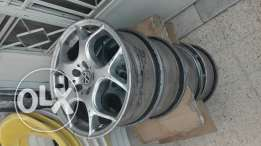 4 car rims 16 inches brand new german manufactured (DeerHorns)5 screws