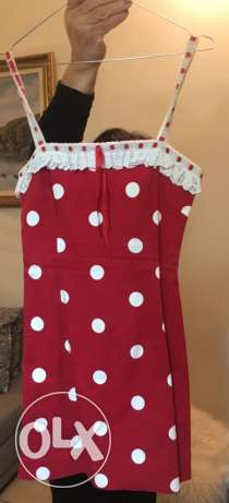Moschino dotted dress