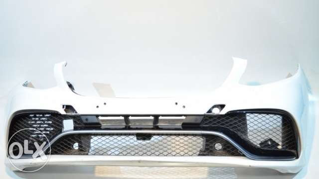 Mercedes Bumper front+P with grille For ML W166,GLE W166 طمبونه مرسيدس
