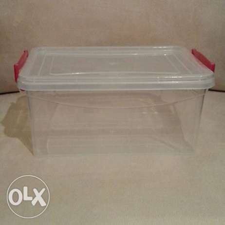 Storage Box with Clip on Lid