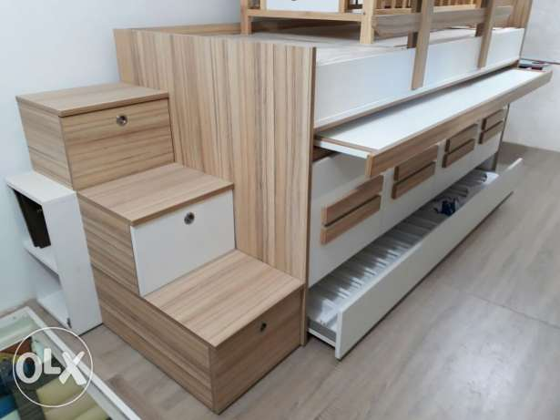 Bedroom for kids made by wood