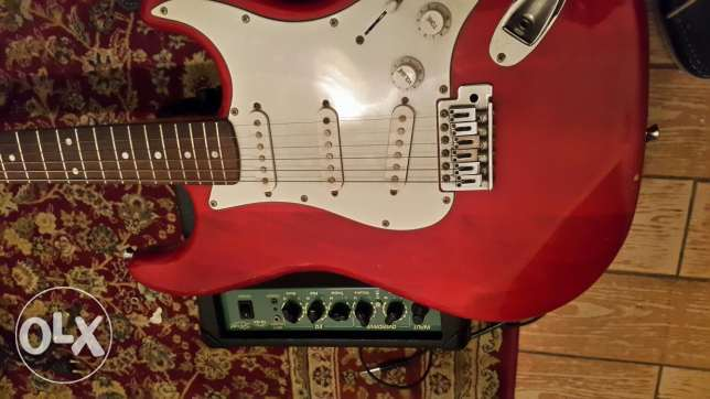Electric guitar little used