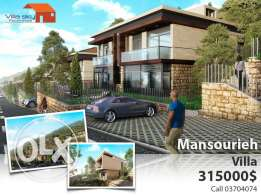 Villas for sale in Mansourieh