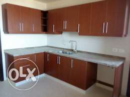 Full open sea view 2 bedrooms new apartment for rent in Khaldeh hills