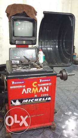 Tire Machine