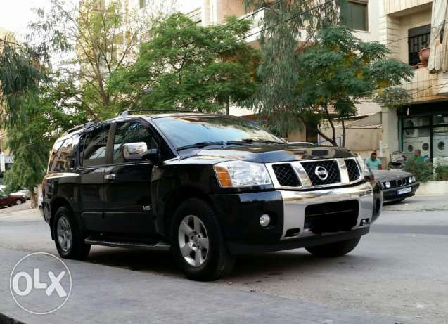 Nissan Armada LE 2005 Great Condition..Complete option