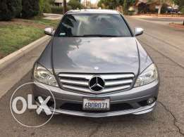 2008 c 300 gray clean carfax no paint 10 days for delivery