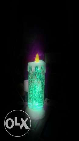 Christmas Colorful candle بعبدا -  3