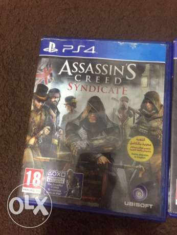 ps4 games for sale قرنة الحمرا -  1