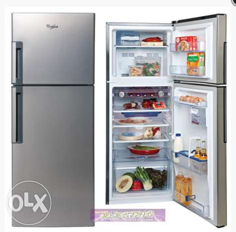 Whirlpool fridge 340L medium size