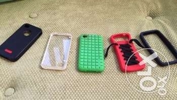 5 iPhone 4 and iPhone 4s covers all for 10$