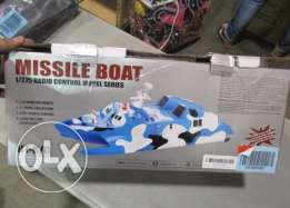 Remote Control Missile Stealth Speed Boat