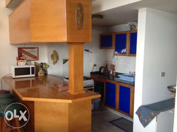 150 SQM Furnished Chalet for rent in Maameltein with sea view