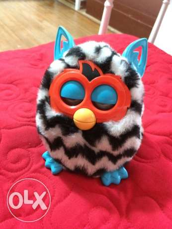 furby black and white