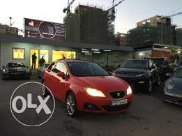 Seat Ibiza coupe 2012 red, Ultra clean !!!
