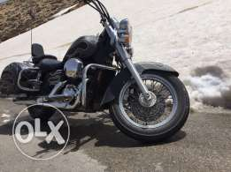 Honda Shadow Spirit 2000 with custom paint job