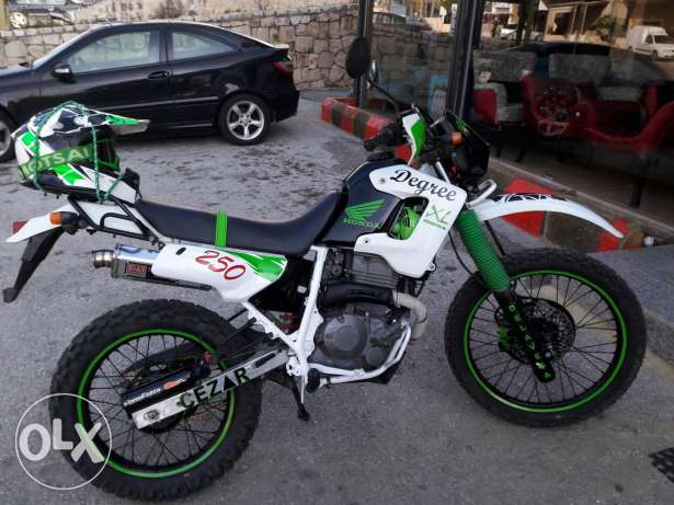 Cross honda Dgree xl 250