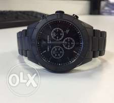very eleagant Ceramica watch black matte