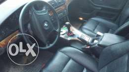 Bmw 523i germany sawda aleb aswad original khar2a