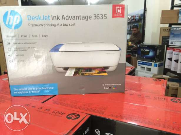 hp printer advantage 3635