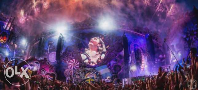 Tomorrowland's discover Europe package 2017 Weekend 2