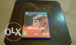 driveclub on ps4 in very good condition. (negotiable