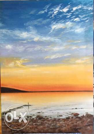 Nice And Serene Painting For Sale.