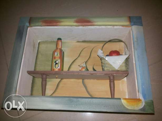 Table and fruit basket